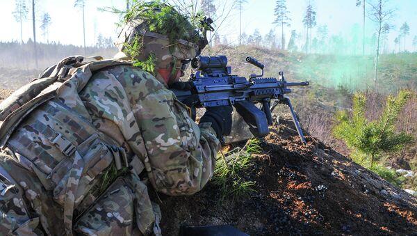 March 15, 2015. Operation Atlantic Resolve is a U.S. Army Europe-led land force assurance training mission taking place across Estonia - Sputnik International