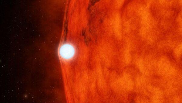 Artists illustration of a small red star. - Sputnik International