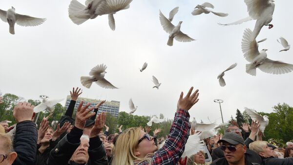 Never Forget: Commemorating 2014 Odessa Massacre Victims - Sputnik International
