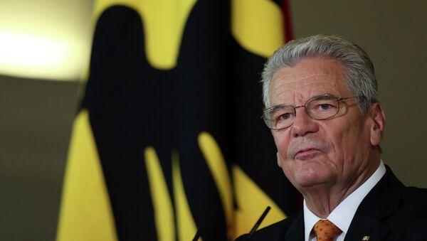 German President Joachim Gauck - Sputnik International
