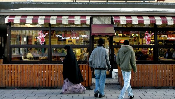 Street scenes from the Stockholm suburb Rinkeby, where a large concentration of immigrants live - Sputnik International