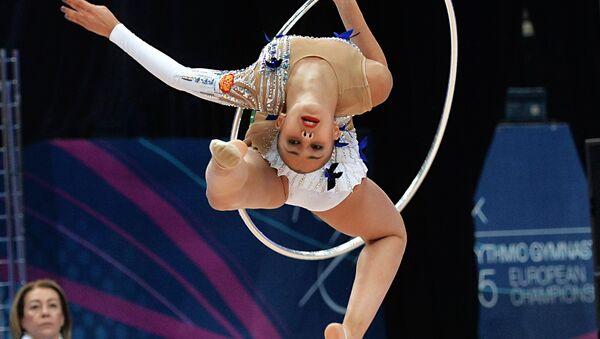 Magic of Grace and Flexibility: European Rhythmic Gymnastics Championship - Sputnik International