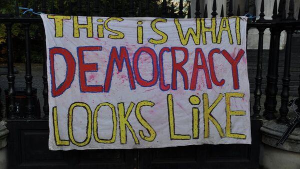 Occupy Democracy - Sputnik International