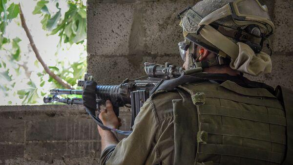 IDF Soldiers During Operation Protective Edge - Sputnik International