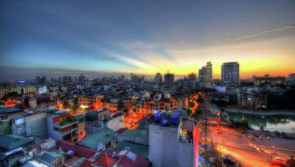 The Sunset in Hanoi - Sputnik International