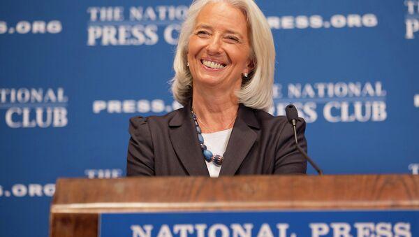 International Monetary Fund Managing Director Christine Lagarde - Sputnik International