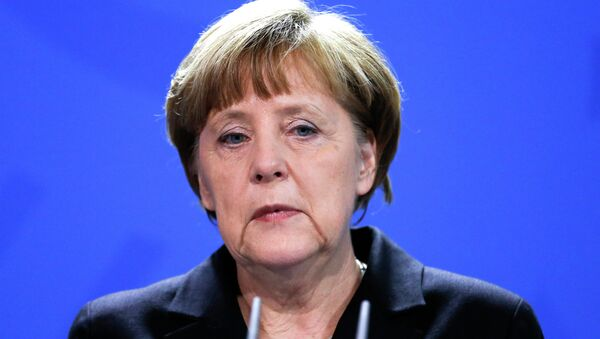 German Chancellor Angela Merke - Sputnik International