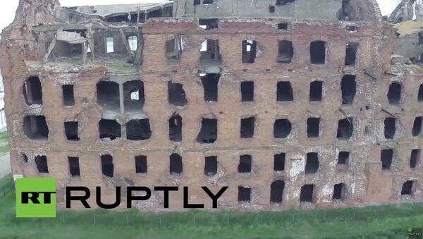 Russia: Drone captures mill untouched since Battle of Stalingrad - Sputnik International