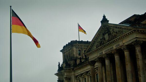 Germany flags fly at the Bundestag. - Sputnik International