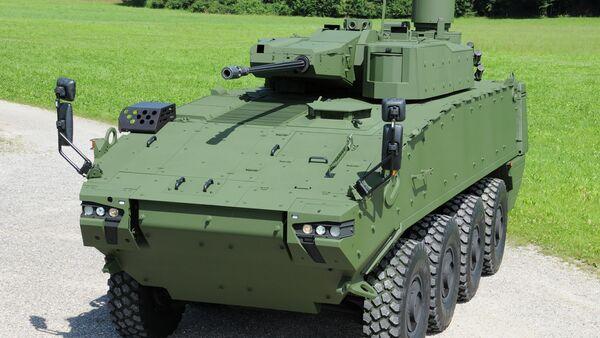 PIRANHA 5 armored vehicle - Sputnik International
