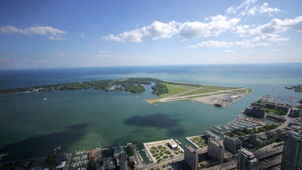 Lake Ontario as seen from Toronto's CN Tower - Sputnik International