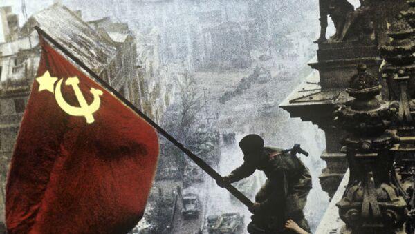 Victory Banner over the Reichstag - Sputnik International