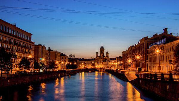 St. Petersburg at Night - Sputnik International