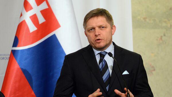 Prime minister Robert Fico of of Slovakia - Sputnik International
