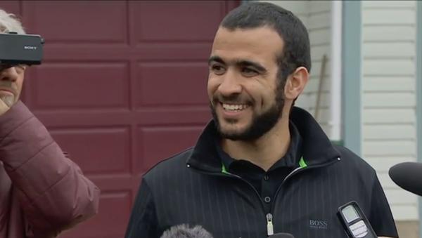 Former Gitmo Detainee Omar Khadr Speaks After Release From Canadian Jail - Sputnik International