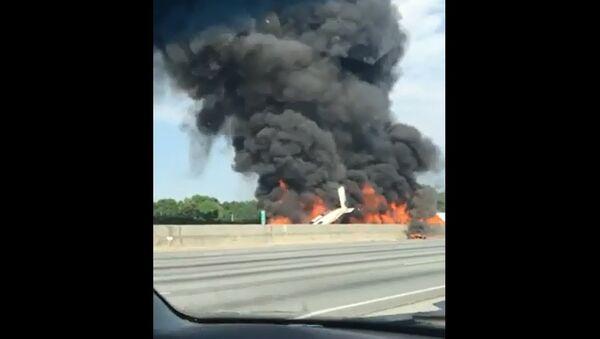 Atlanta Plane Crash - Sputnik International
