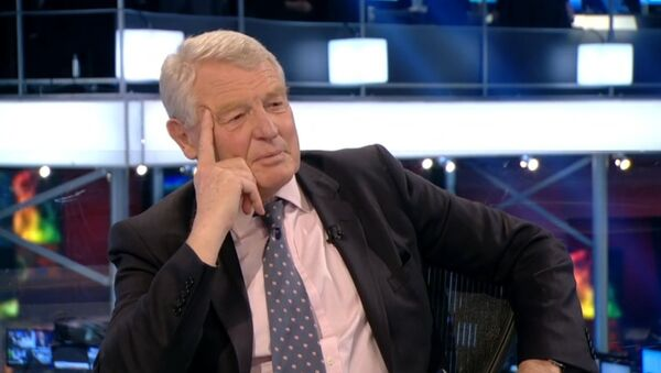 'If this exit poll is right I will publicly eat my hat' Paddy Ashdown - BBC News - Sputnik International