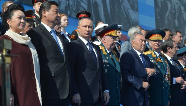 President Putin at military parade to mark 70th anniversary of Victory in 1941-1945 Great Patriotic War - Sputnik International