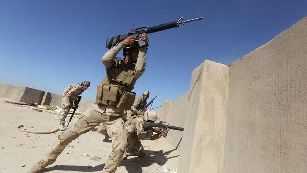 Iraqi soldiers - Sputnik International