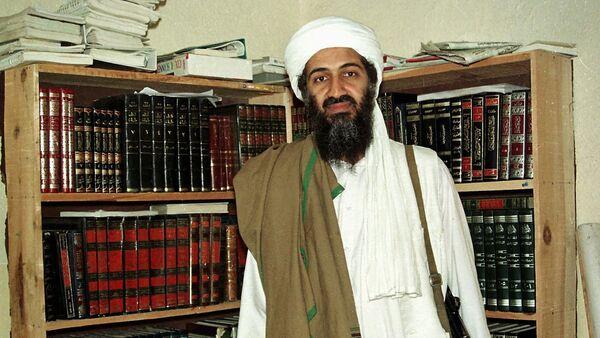 Al-Qaeda leader Osama bin Laden is seen in Afghanistan. (File) - Sputnik International