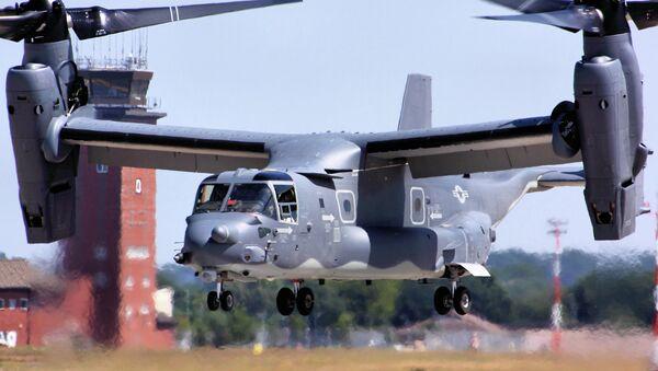 CV-22 Osprey - RAF Mildenhall - Sputnik International