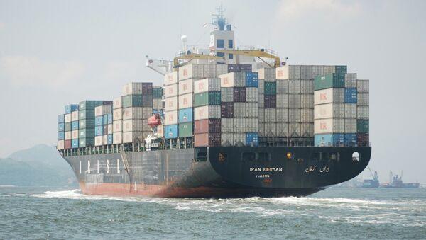 Iranian cargo ship - Sputnik International