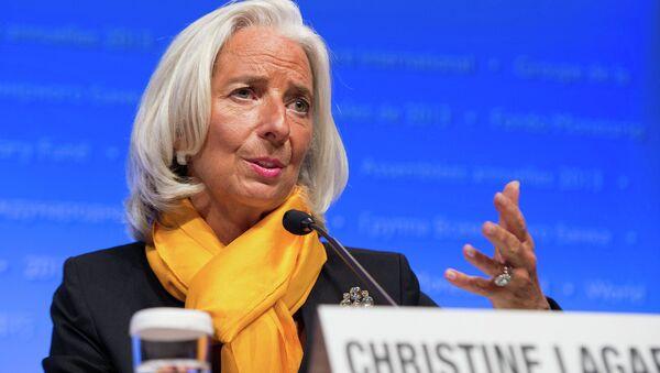 IMF Managing Director Christine Lagarde - Sputnik International