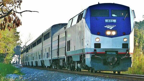 Amtrak train - Sputnik International