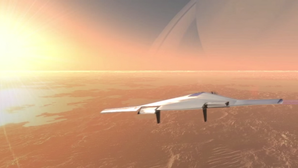 Contracting companies are designing an autonomous, inflatable aircraft which would patrol the dense atmosphere of Venus. - Sputnik International