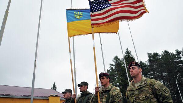 US military instructors arrive in Ukraine - Sputnik International