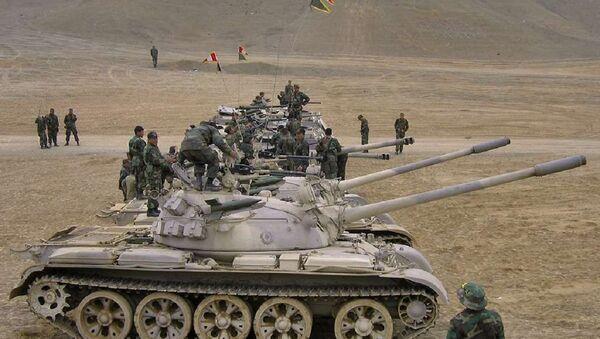 T-55 in Peru - Sputnik International