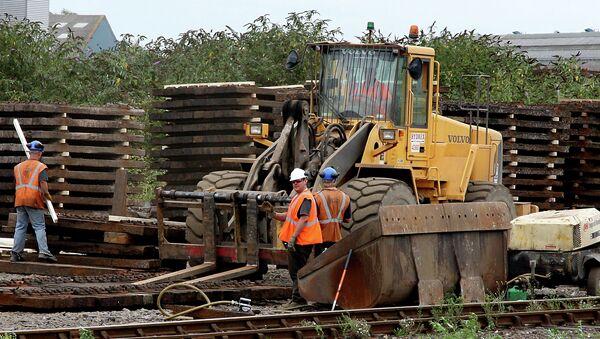 Rail Workers, Eastleigh, England, United Kingdom - Sputnik International