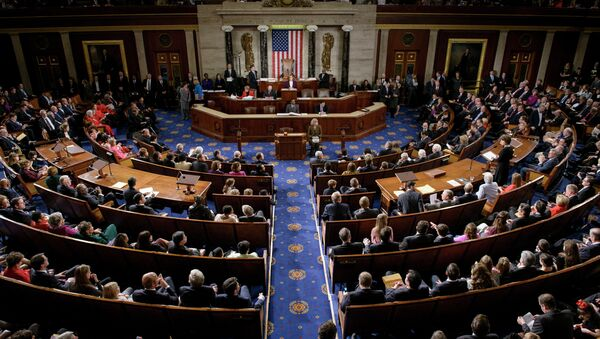 Members of the House of Representatives meet on Capitol Hill January 6, 2015 in Washington, DC - Sputnik International