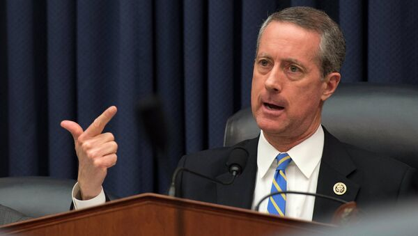 House Armed Services Committee Chairman Rep. Mac Thornberry, R-Texas, questions Defense Secretary Ash Carter as he testifies on Capitol Hill in Washington, Wednesday, March 18,2015 - Sputnik International