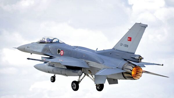 Turkish Air Force F-16 - Sputnik International