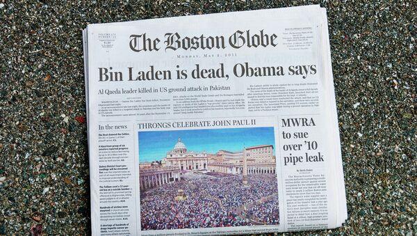 Boston Globe, front page - Sputnik International