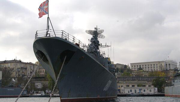 Russian Navy frigate Ladny in Sevastopol - Sputnik International