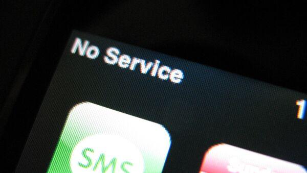 Cell phone with no service - Sputnik International