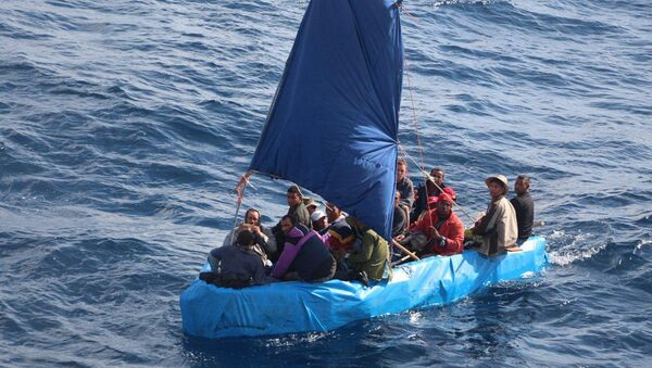 Cuban migrants - Sputnik International