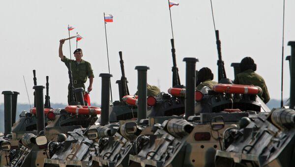 Marine and paratroopers landing drill in Kaliningrad Region - Sputnik International