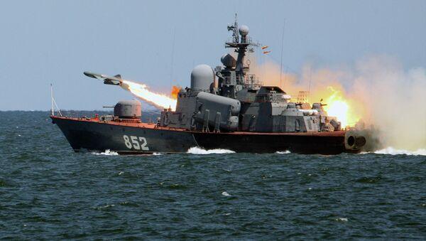 Tactical exercises of Russian Baltic Fleet - Sputnik International