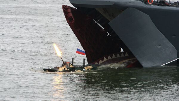 Rehearsal for Baltic Fleet Navy Day - Sputnik International
