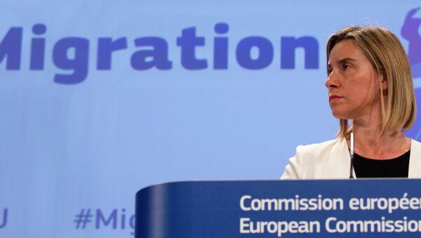 European Union High Representative Federica Mogherini - Sputnik International