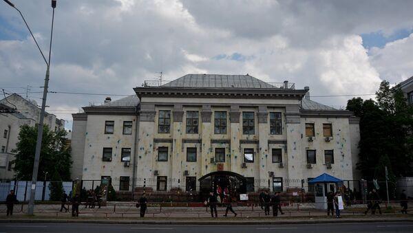 Building of Russian embassy in Kiev - Sputnik International