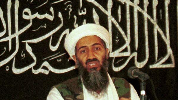 Osama bin Laden in 1998 file photo from his hideout in Afghanistan. - Sputnik International