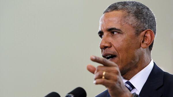 U.S. President Barack Obama - Sputnik International