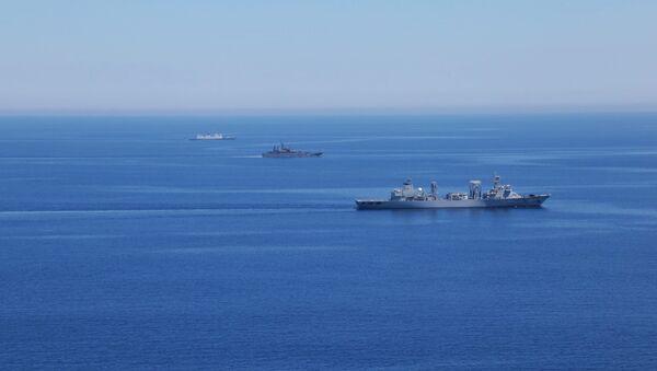 Russian-Chinese drills Joint Sea-2015 in the Mediterranean - Sputnik International