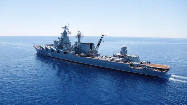 File Photo: Russian-Chinese drills Joint Sea-2015 in the Mediterranean - Sputnik International