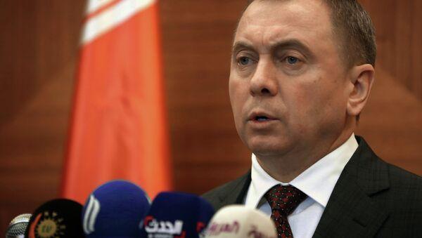 Belarus Foreign Minister Vladimir Makei - Sputnik International