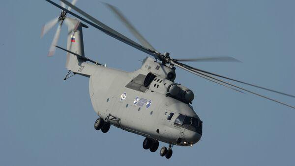 Mi-26T2 Russian heavy multipurpose transport helicopter - Sputnik International